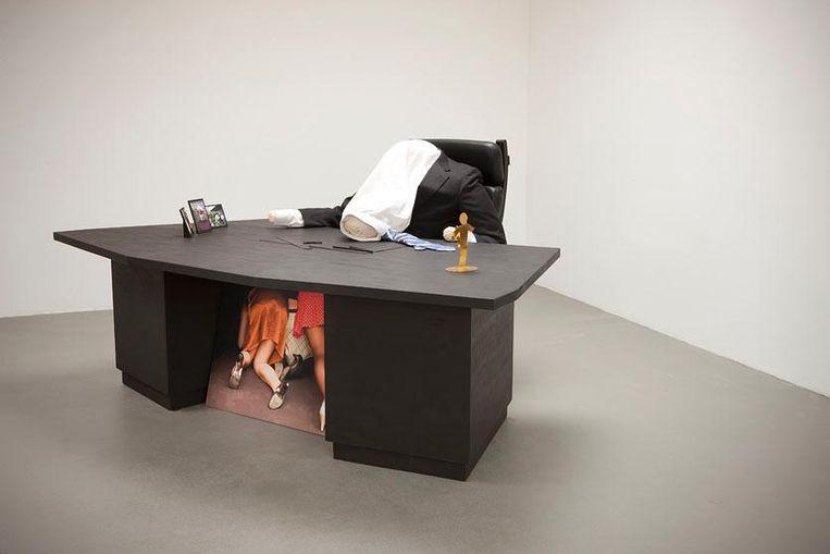 Helen Frik, 'Happy with less visits the hard worker', 2007. Beeld NOG collectie / Stedelijk Museum Schiedam