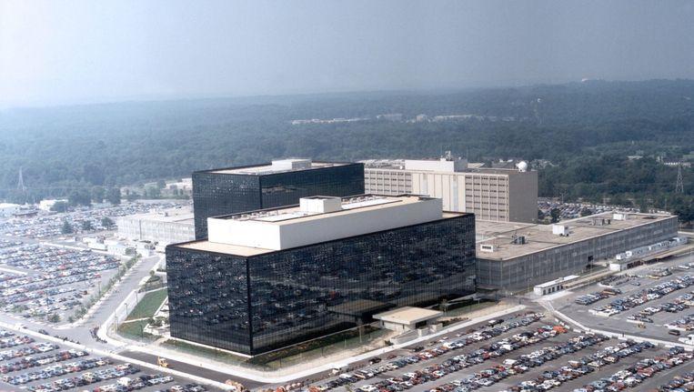 Het hoofdkwartier van de NSA in Maryland. Beeld EPA