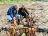 Onneembare stuw in de Glanerbeek is verdwenen; vissen hebben weer vrij spel