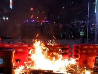 Tientallen arrestaties bij zware rellen in Hongkong