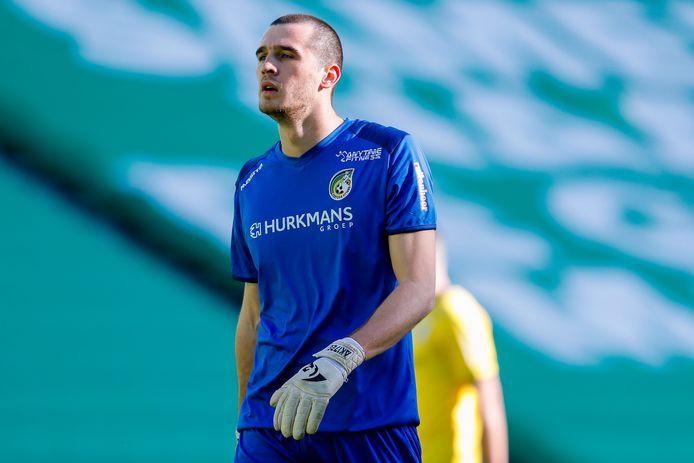 Alexei Koselev viel gisteren in voor de geblesseerd geraakte Piet Velthuizen.