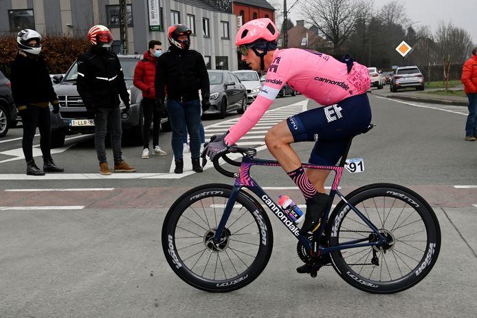 Jens Keukeleire voelt zich ondanks drie weken zonder koers sterk genoeg om zondag in Waregem een rol te spelen.