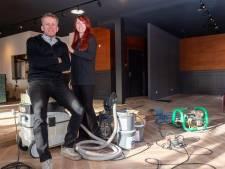 Ben en Marieke zagen hun Rietstulp in Oene afbranden en beginnen nu in Epe aan een nieuw horeca-avontuur
