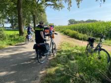 Bejaarde man op elektrische fiets raakt zwaargewond bij valpartij in Voorst