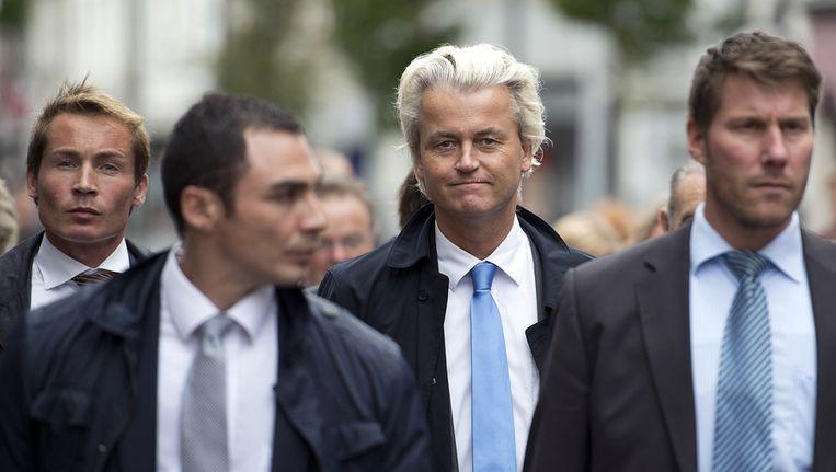 Geert wilders (midden). Beeld anp