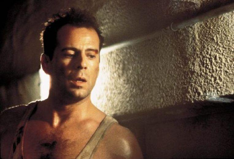 Bruce Willis in Die Hard. Beeld Brunopress