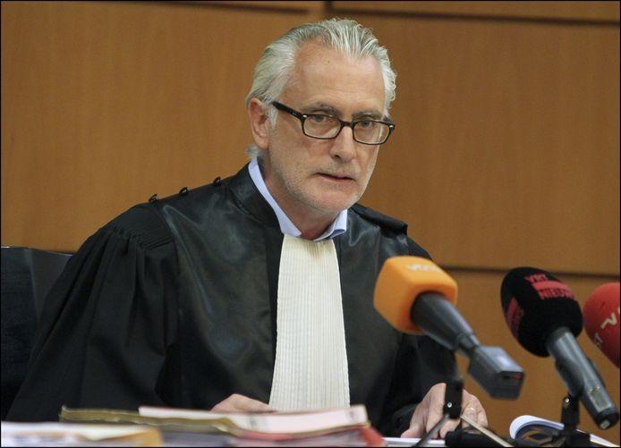 Politirechter Peter D'Hondt.