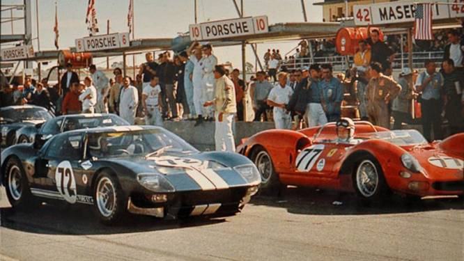 Ford vs Ferrari: nieuwe film met Matt Damon en Christian Bale