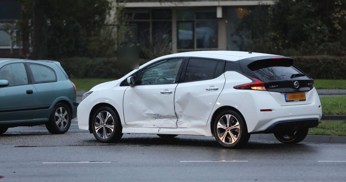 Vertraging door twee ongelukken binnen een kilometer in Apeldoorn.