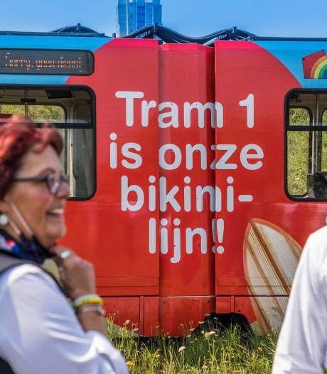 Bikinilijn is het nieuw wapen tegen files naar Scheveningen: 'Je ziet mensen kijken'