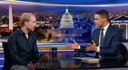 Rutger Bregman te gast bij Trevor Noah in The Daily Show.