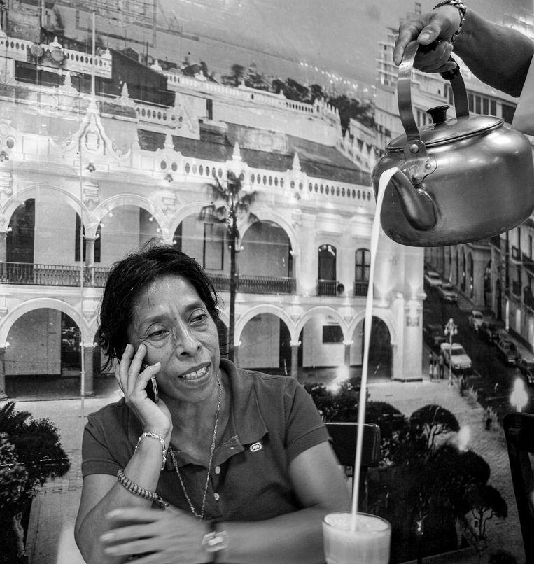 Journaliste Regina Martínez werd op 28 april 2012 vermoord in Xalapa, hoofdstad van de Mexicaanse staat Veracruz.  Beeld Octavio Gomez