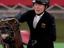 Les photos douloureuses d'une athlète qui voit son rêve s'envoler à cause du cheval qu'on lui a assigné