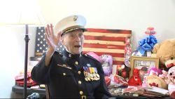 104-jarige veteraan kreeg al meer dan 25.000 valentijnskaartjes