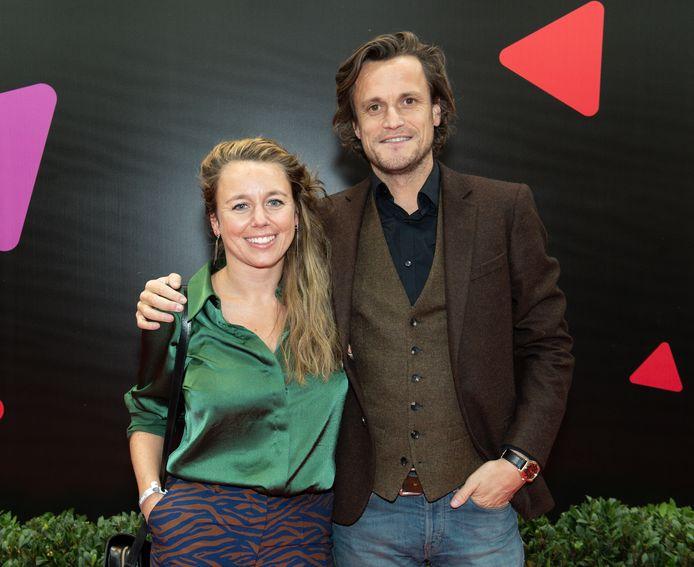 Tim Van Aelst en zijn verloofde Sofie