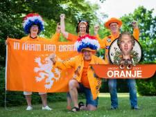 Na ruim 200 interlands is Oranjefan Hennie (68) uit Zwolle nog altijd niet uitgespeeld: 'Op naar de 300!'