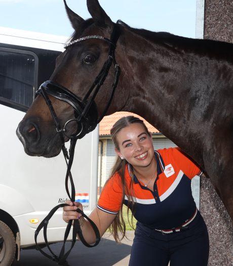 Jasmien de Koeyer uit Sint-Jansteen wint belangrijke wedstrijd voor het EK dressuur