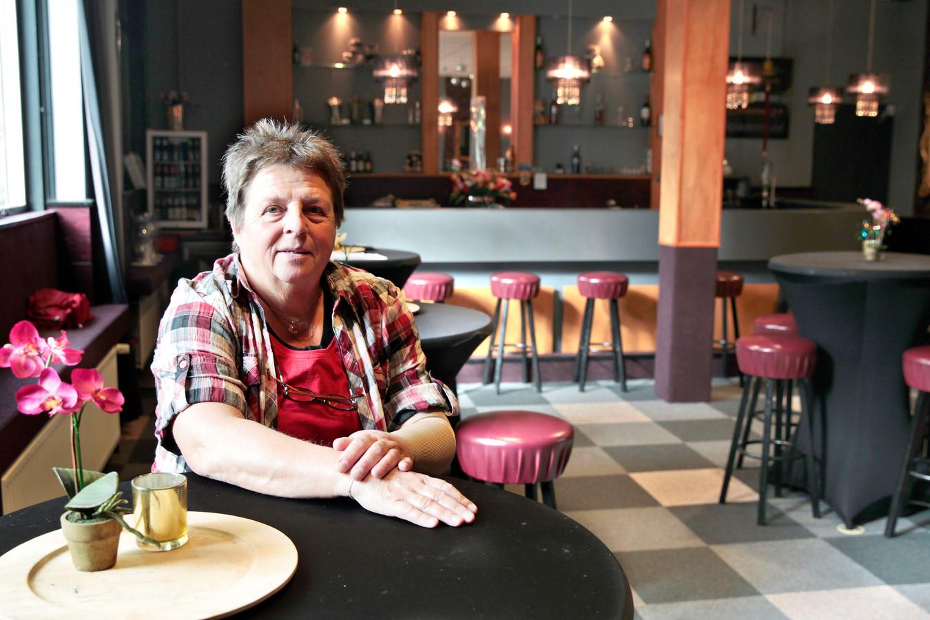 Cissie Maas, voorzitter van HVV.