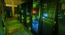 De technische ruimte van InterDC waar de data wordt opgeslagen en verwerkt.