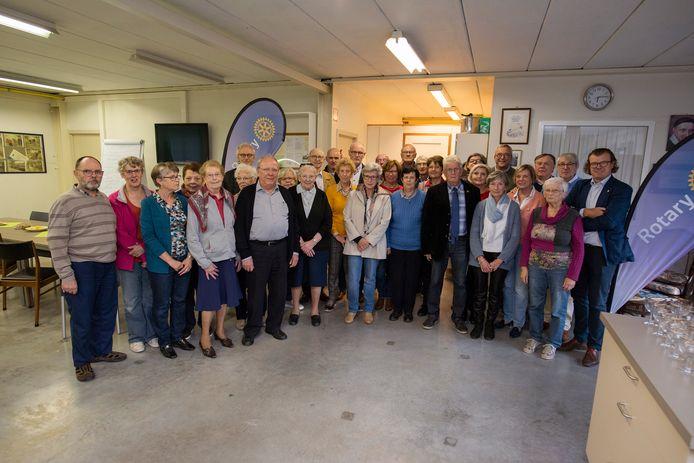 Rotaryclub Poperinge stuurt al 5 jaar vrijwilligers naar vzw De Wervel