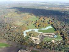 Schot in plan voor wellnessresort op locatie Weidebad in Chaam
