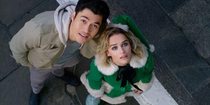 "Henry Golding et Emilia Clarke dans ""Last Christmas"""