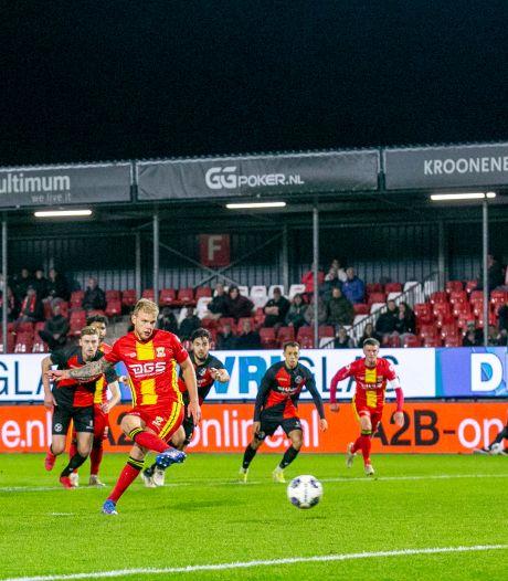 GA Eagles heeft het alleen bij vlagen lastig in Almere, volgende bekerronde is een feit