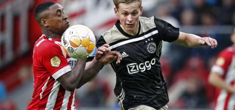 PSV enige club met positieve balans tegen Ajax, maar in Amsterdam wint Ajax vaker