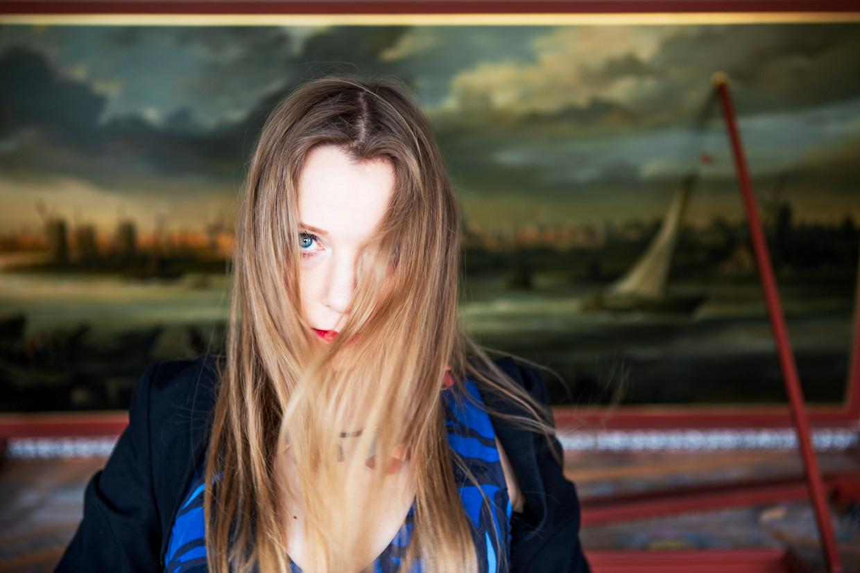 Klavierspeler Olga Pasjtsjenko had haar eerste piano te danken aan een winnend lot in de loterij.  Beeld Pauline Niks