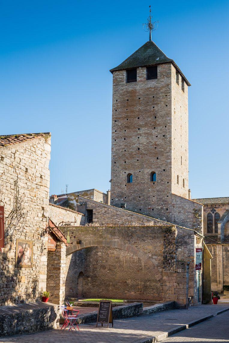 Een Romeins kerkje in Cluny. Beeld Alamy Stock Photo