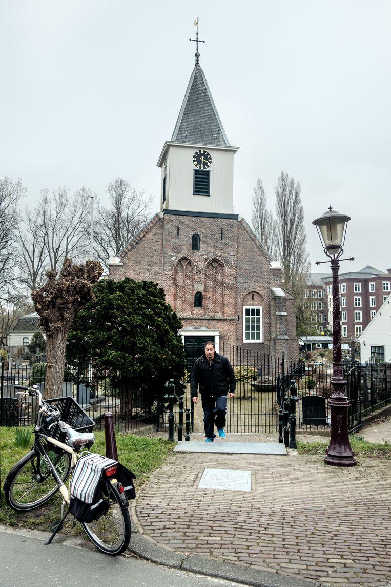 De Petruskerk. Beeld Jakob van Vliet