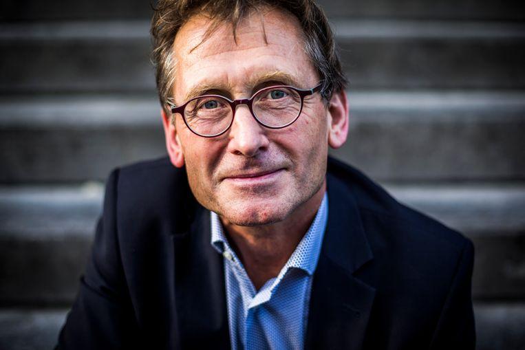 De Nederlander Ben Feringa won in 2016 de Nobelprijs voor Scheikunde. Beeld ANP