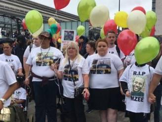Dit keer in Londen en Liverpool: protest tegen de dood van zwarte tiener