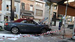 Stomdronken bestuurder rijdt wekelijkse markt Gent binnen: als bij wonder slechts 1 gewonde
