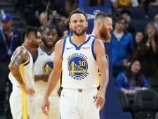 Curry moet vrezen voor einde seizoen na breuk in linkerhand