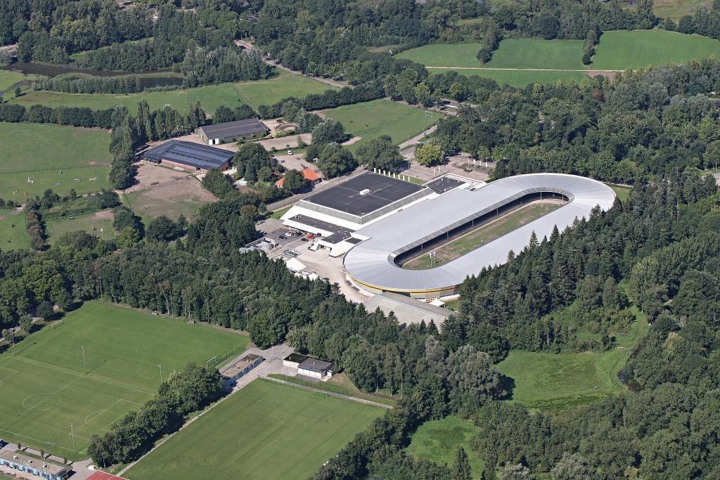 IJssportcentrum Eindhoven, waar komend weekend Dynamo Metalfest plaatsvindt.