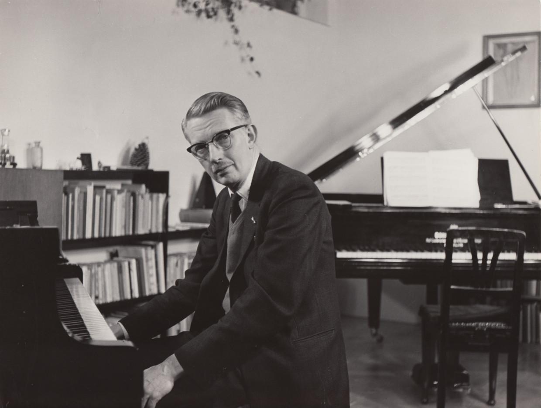 Hans Henkemans in 1961. Beeld Privéarchief