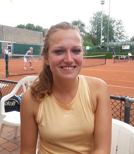 Tennisduo Van Strien/Flikweert weer  de beste in Zaamslag
