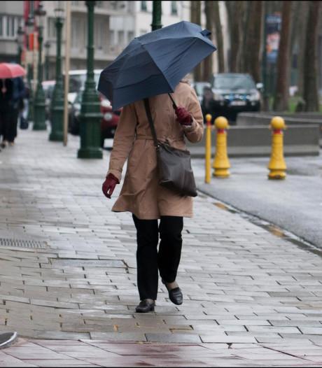 Pluies abondantes et risque d'orages pour ce dimanche