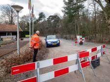 'Eigenwijze knuppels' proberen wegafsluiting te omzeilen over campingterrein in Wolfheze