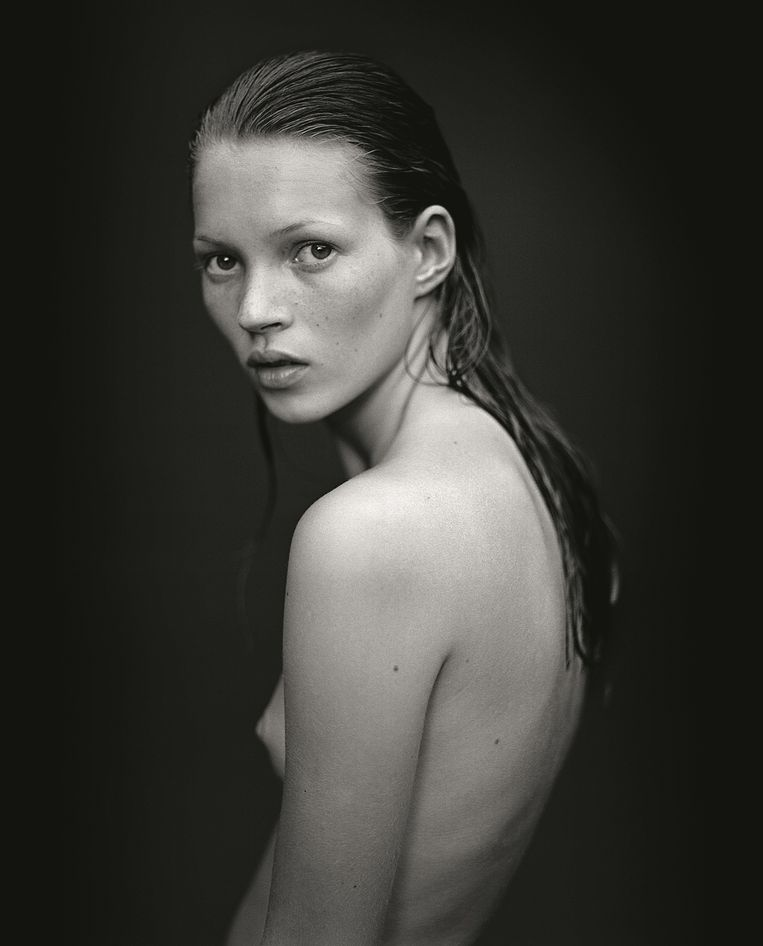 Mario Sorrenti: Kate Moss (1993) Beeld National Portrait Gallery