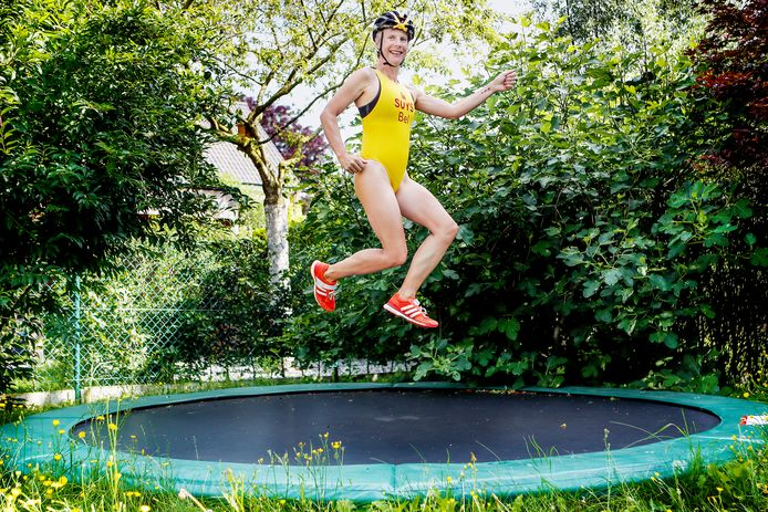 Triatlete Mieke Suys is nog steeds een spring-in-'t-veld.