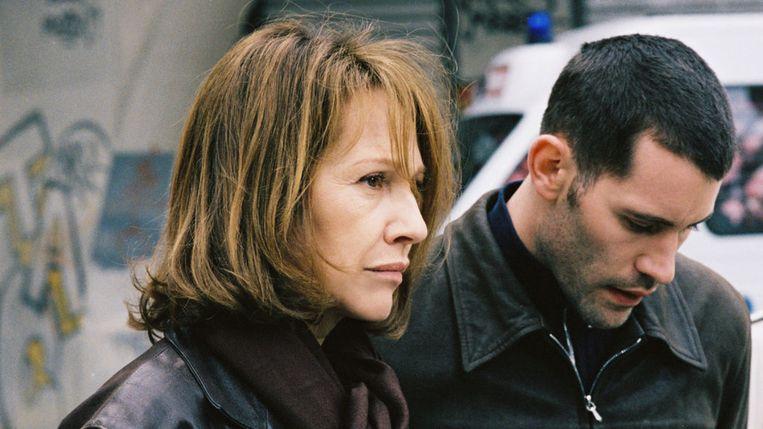 Nathalie Baye en Jalil Lespert in Le petit lieutenant van Xavier Beauvois Beeld x