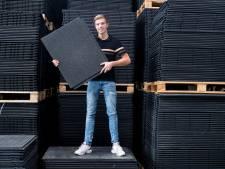 Pieter (20) had zeventien mensen in dienst, nu hoopt hij de Benelux te veroveren als kunststofleverancier