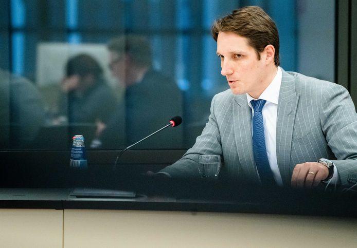 PVV-Kamerlid Emiel van Dijk.