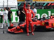 Leclerc pakt pole op Monza na bizar einde kwalificatie