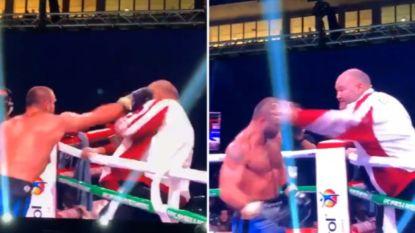 Na zoveelste nederlaag kookt potje van bokser over: eigen coach krijgt rake klap, maar die gaat het duel aan