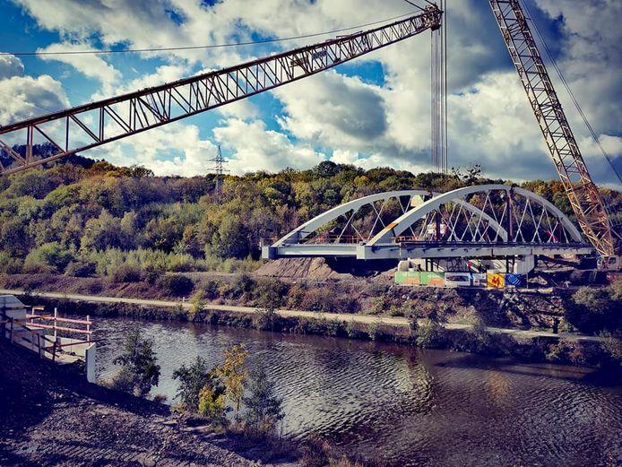 Ce nouveau pont va orner Marchienne-au-Pont (Charleroi).