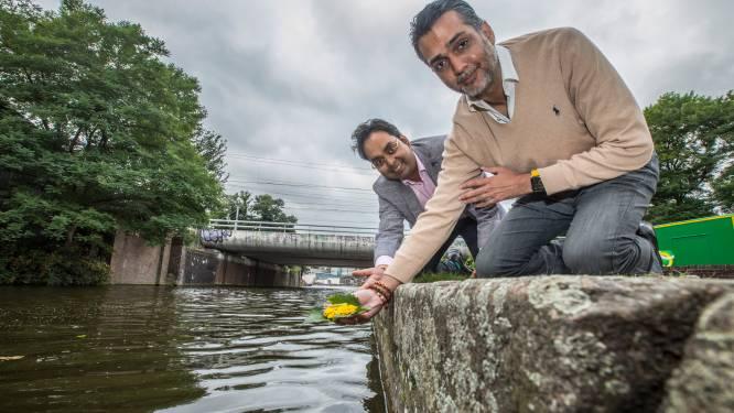 Hindoes mogen eindelijk 'legaal' bloemen offeren in Hollandse wateren: 'We kregen hier boetes voor!'