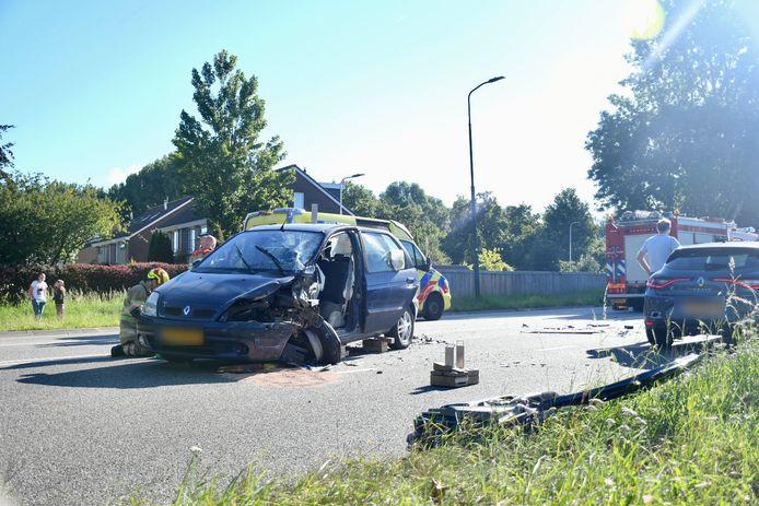 Het ongeluk gebeurde dinsdagmorgen op de Utrechtseweg in IJsselstein.